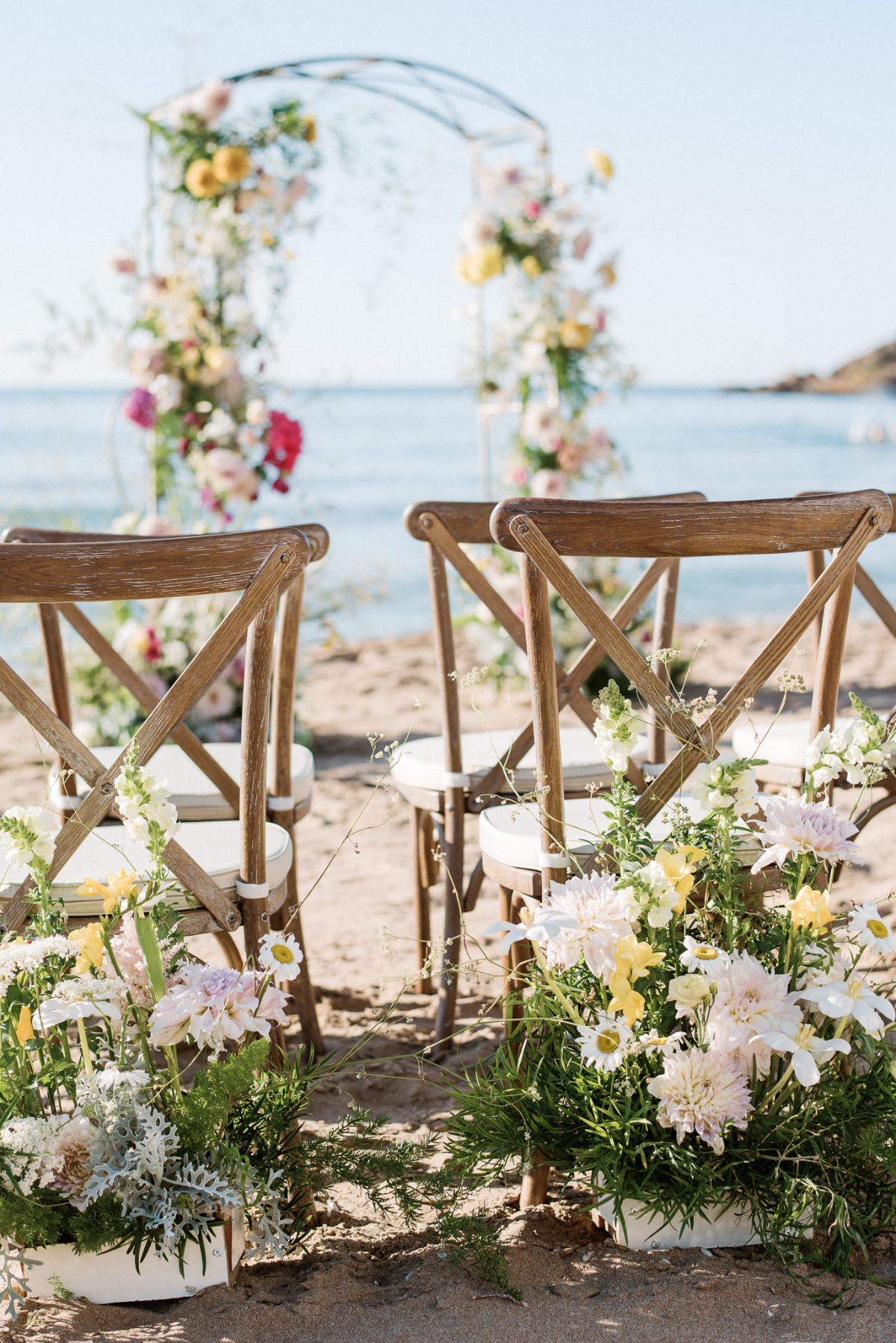 Dusty Blue Summer Vibes in this Crete Wedding Inspiration