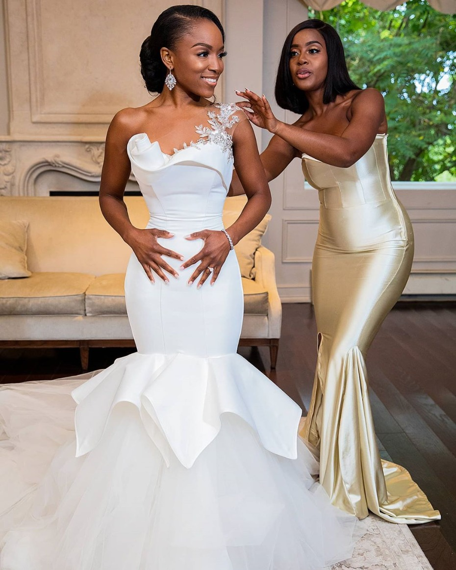 In 2020 You Can Still Go Big With Your Wedding Dress