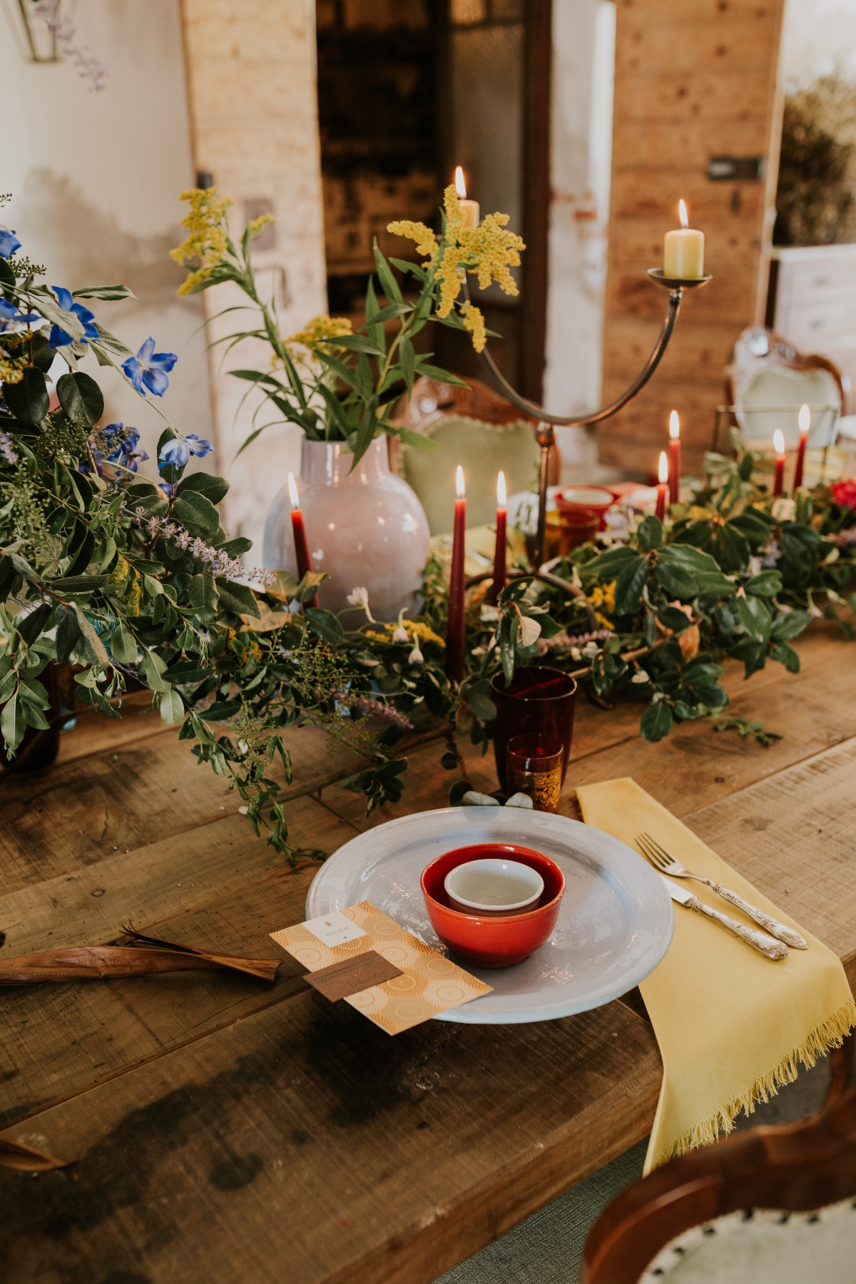 rustic and boho wedding reception decor ideas