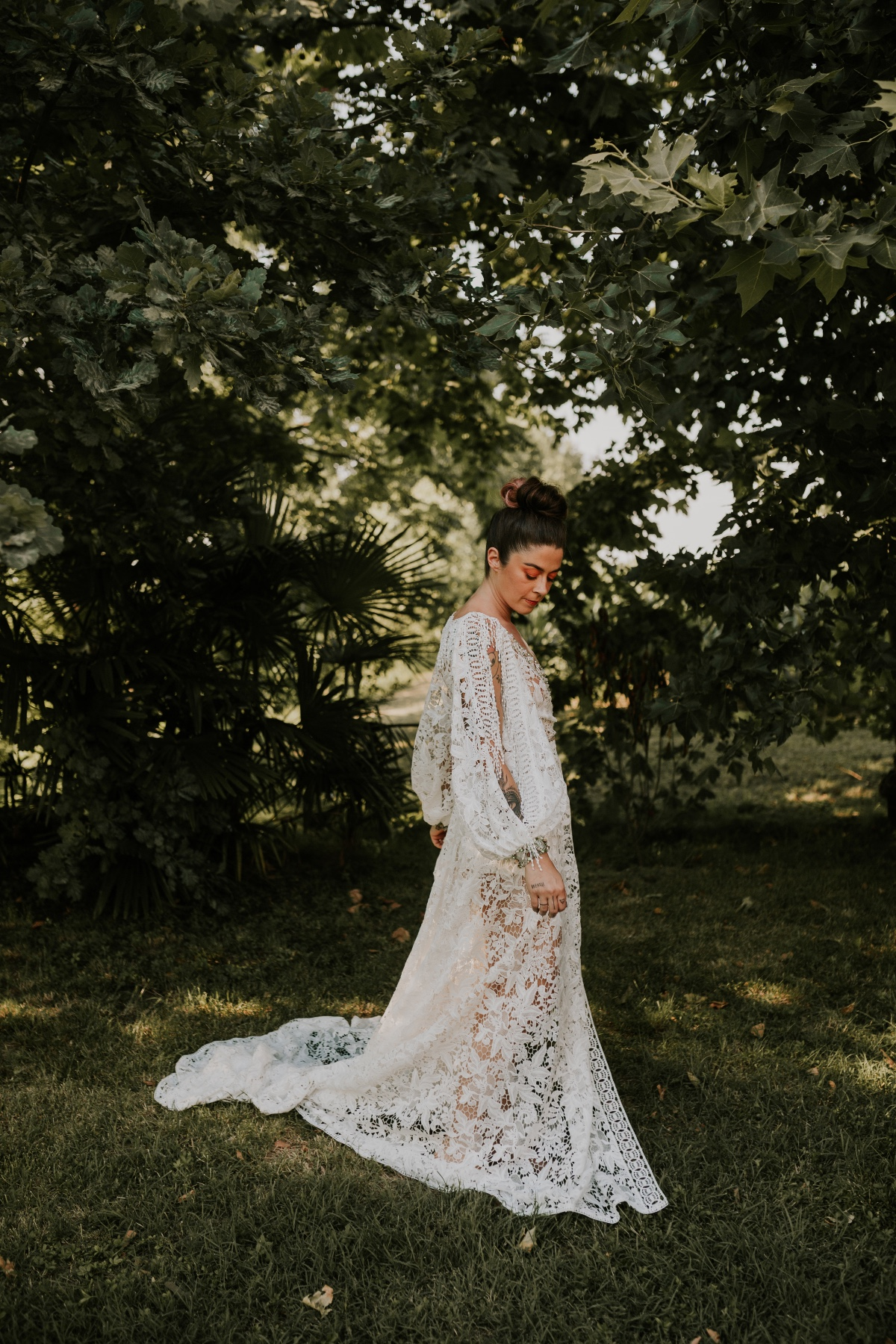 boho chic wedding dress by Yoliah Spose