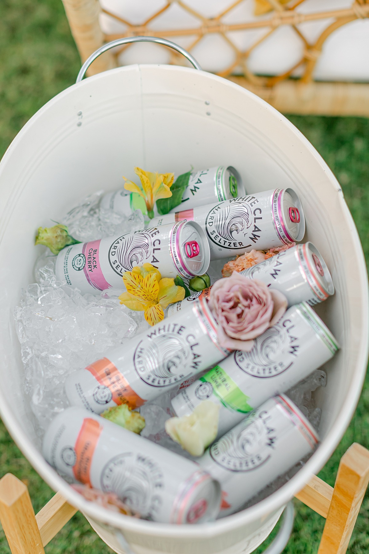White Claw at Weddings