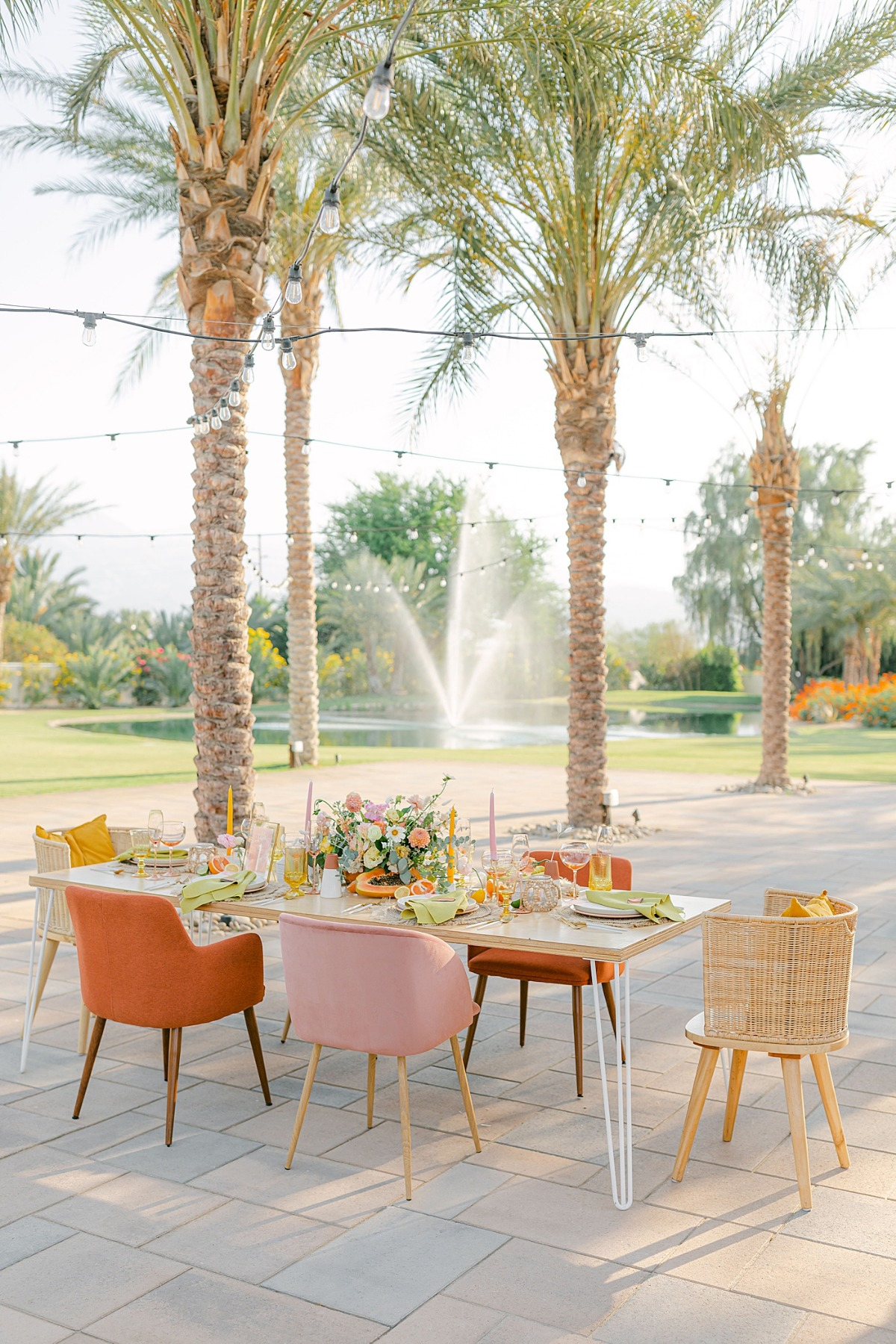 Old Polo Estate Palm Springs Wedding Venue