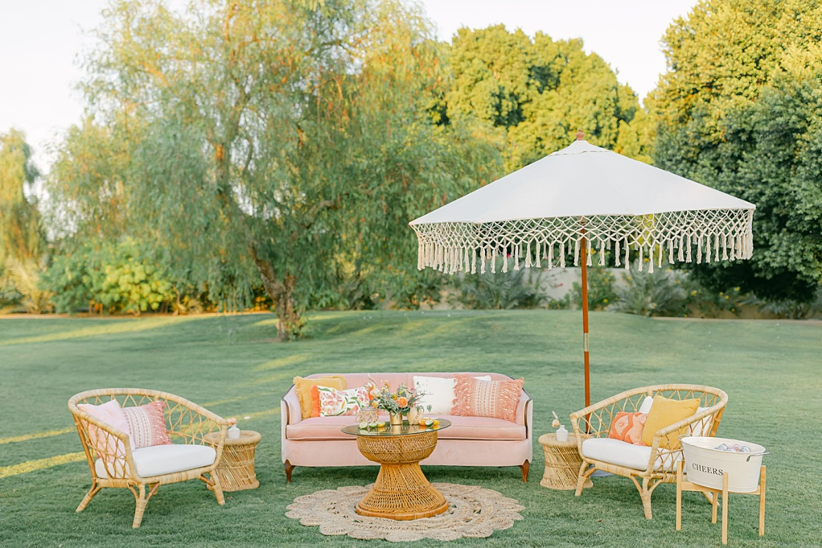Palm Springs Wedding Rentals