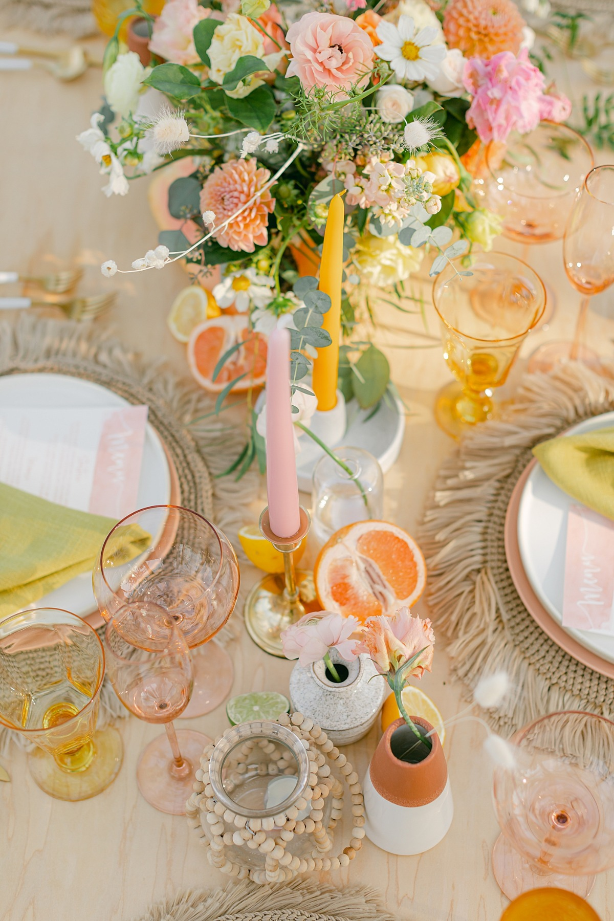 Colorful Palm Springs Wedding Inspiration