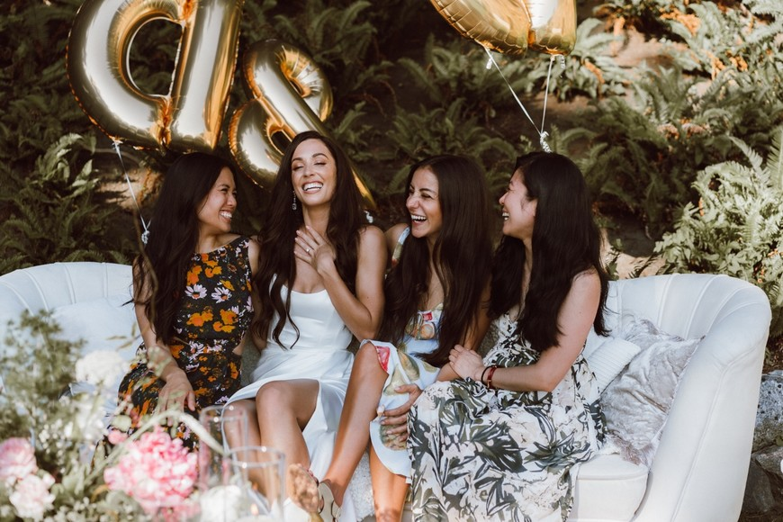 Covid Style Engagement Party in Vancouver