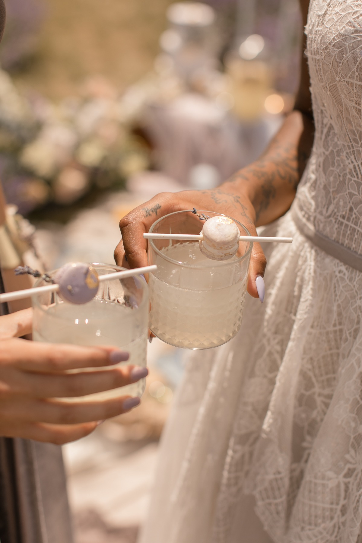 Blooming Lavender Picnic Bridal Editorial Inspiration