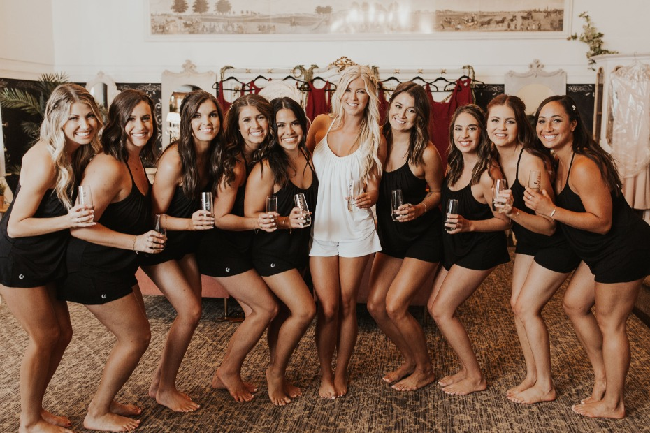 6 Things Bridesmaids Will Be Down for on the Morning of the Wedding