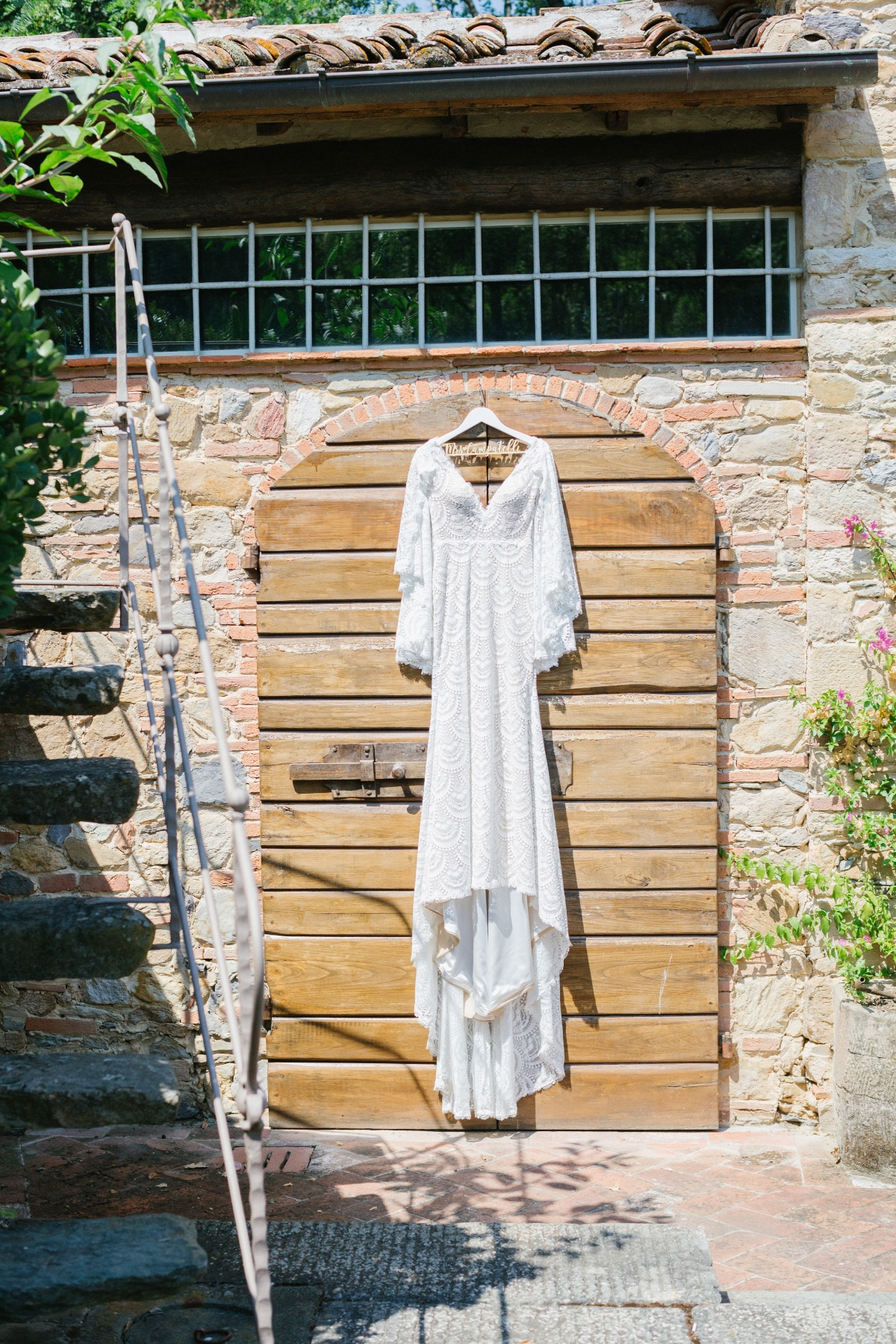 Enchanted Vintage Gipsy-Chic Fairytale in Tuscany