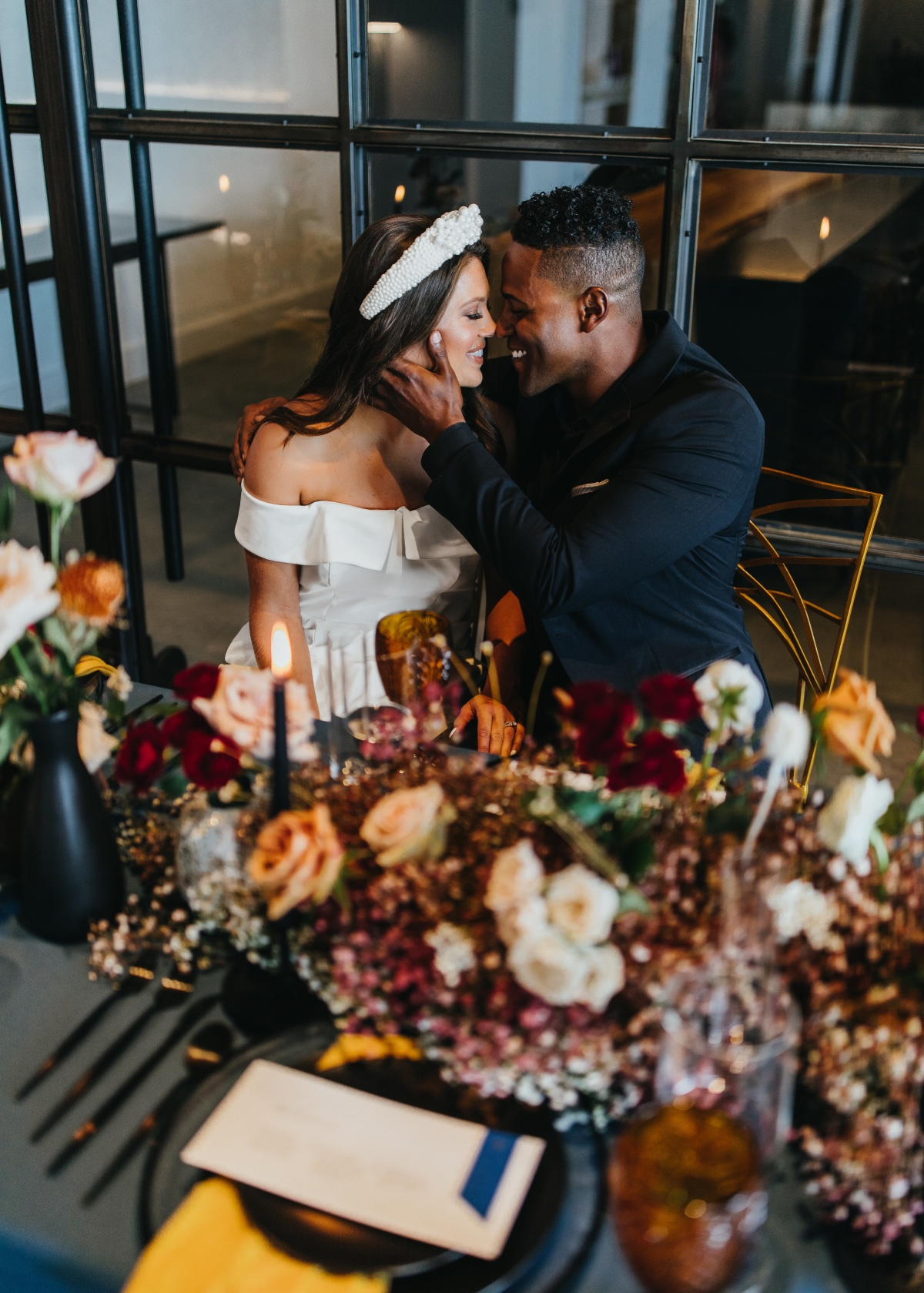 Modern and Edgy Hyde House Wedding Inspiration