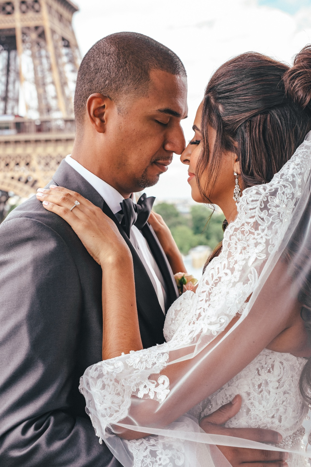 A Chic & Luxurious Wedding In Paris