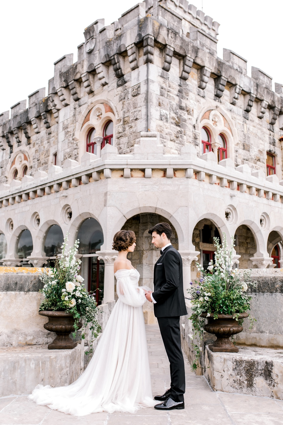 Fairy Tale Castle wedding venue in Portugal on the Ocean