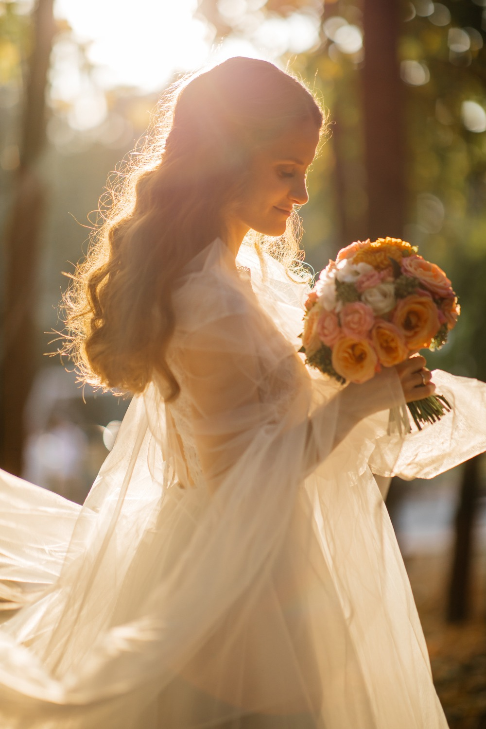 ethereal bridal portrait ideas