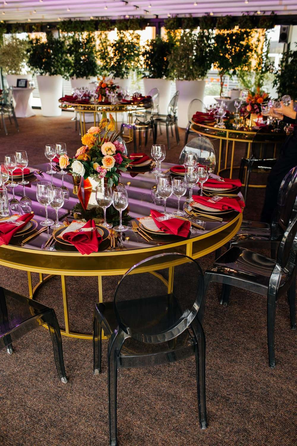 modern wedding reception decor ideas