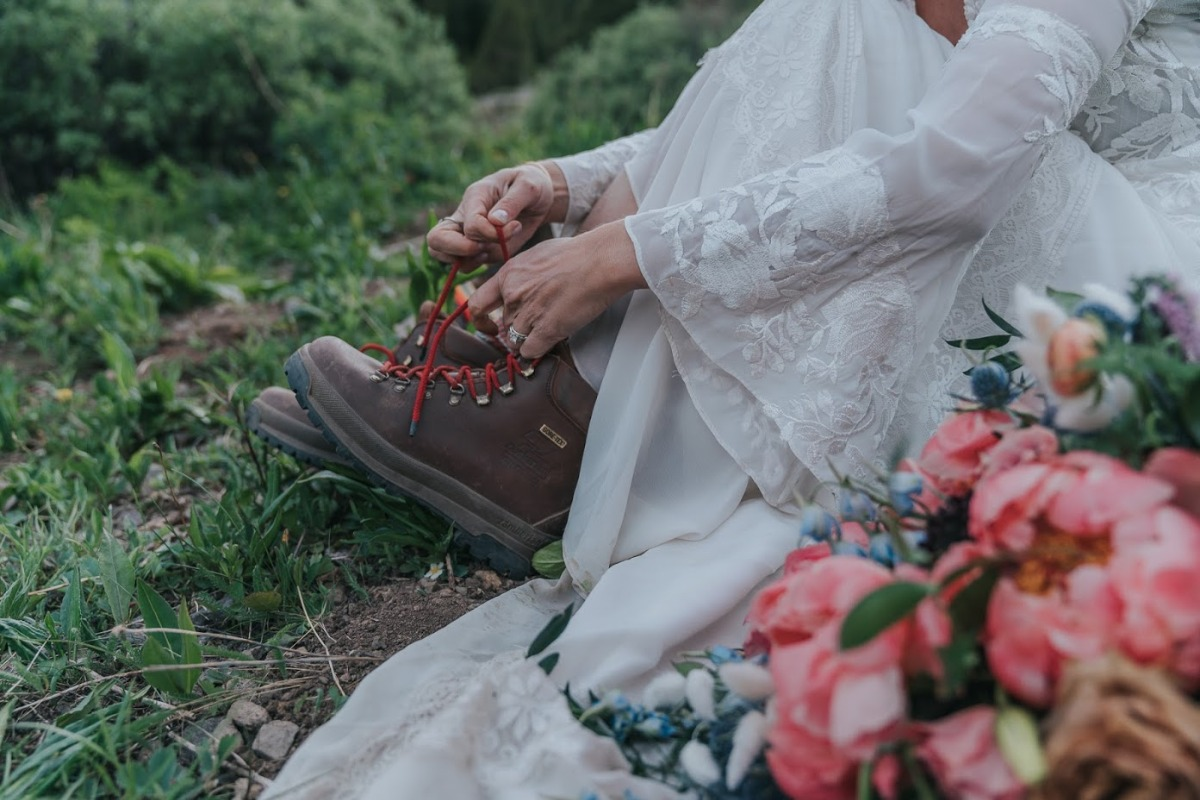 mountain wedding elopement