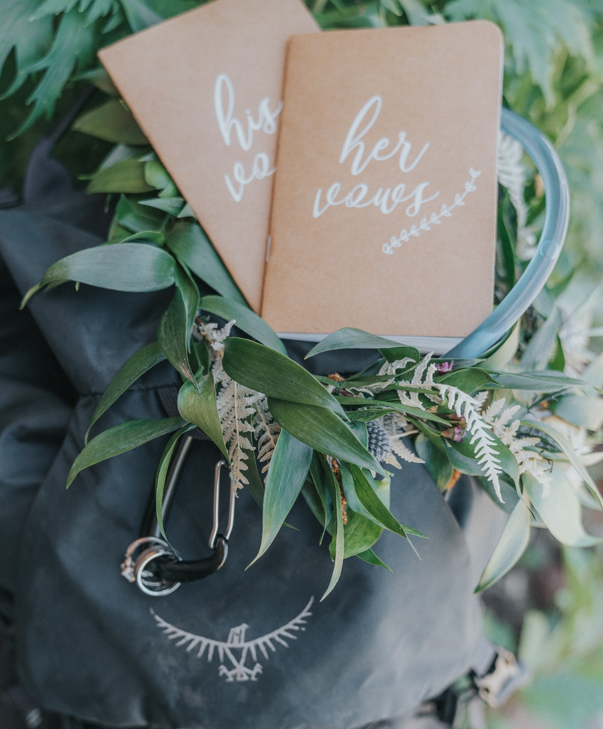 flat lay wedding styling ideas