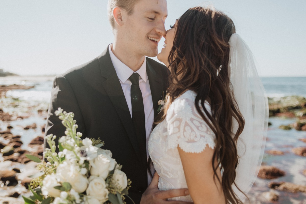 Simple Homemade San Diego Elopement