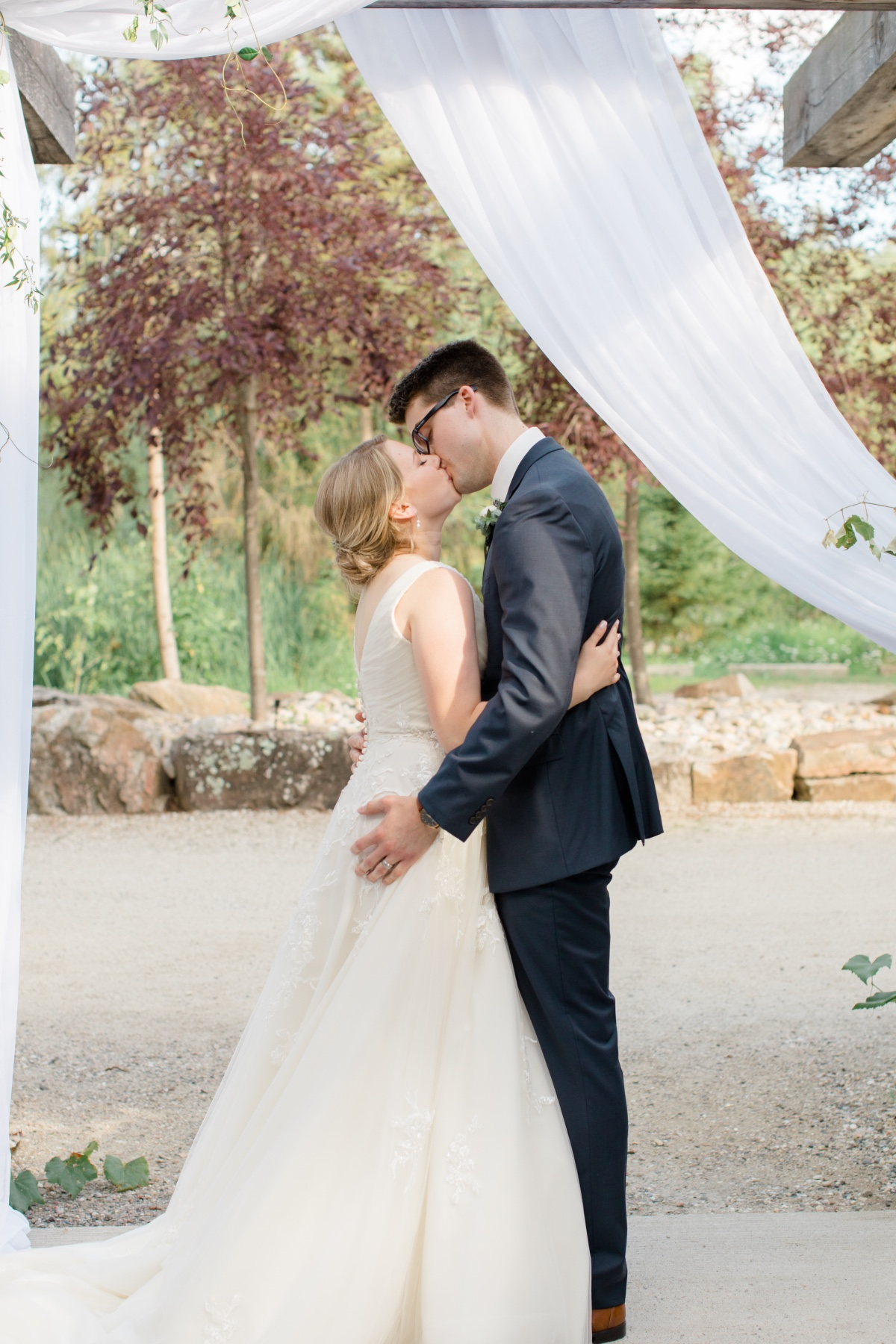 Tuscan Italian Themed COVID Wedding in Canada