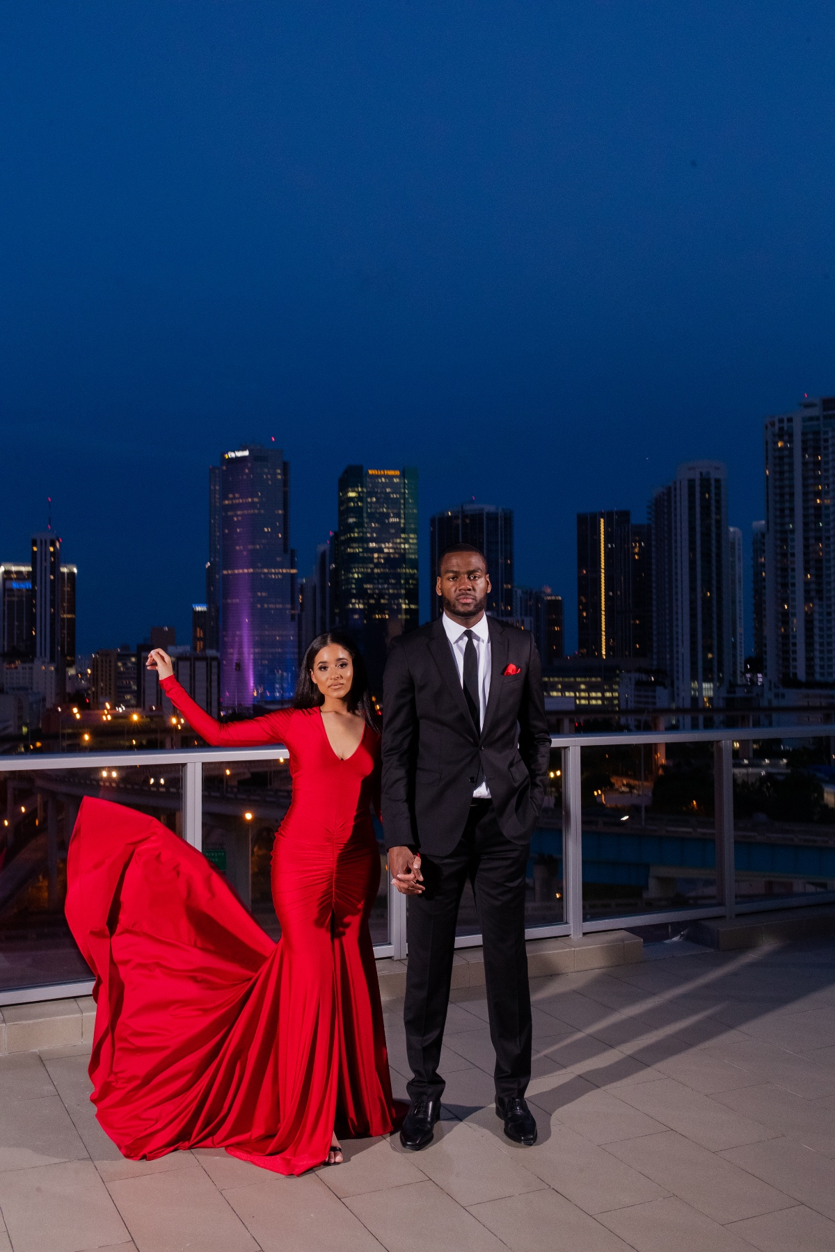 Elyse Hart-Shelton and Alec Burks engagement photos