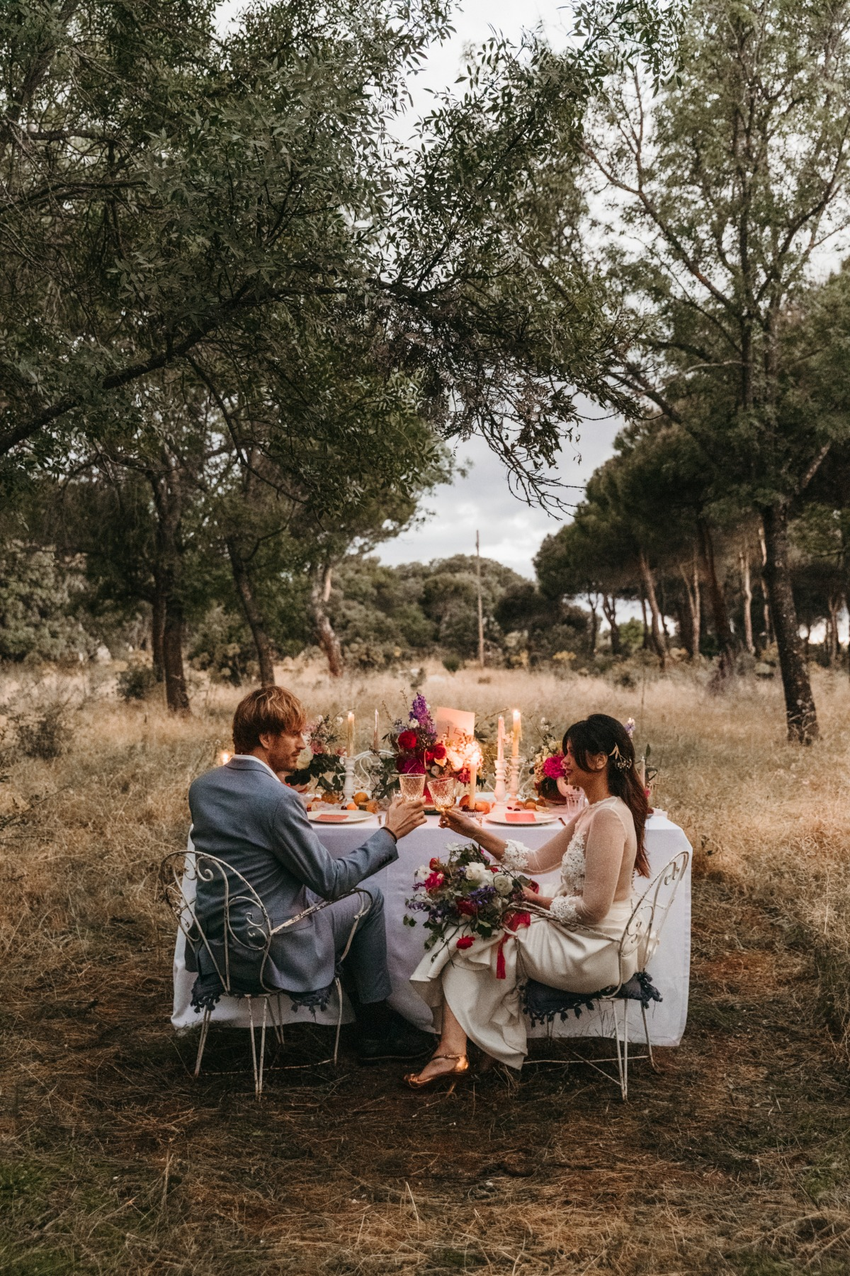 A Colorful Elopement in the Sierra of Madrid