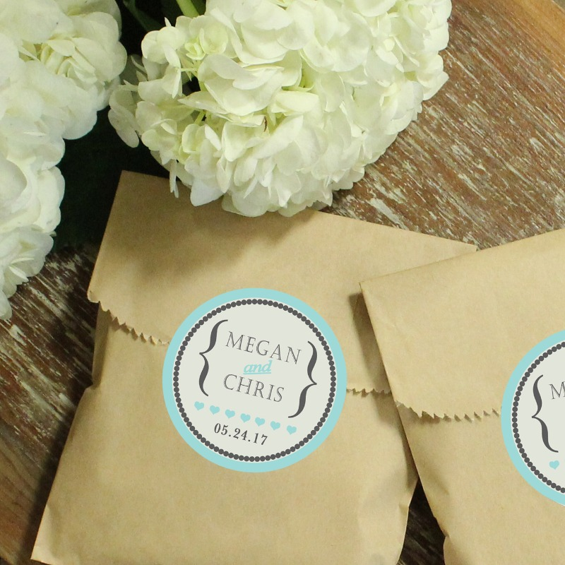Unique favor packaging for your big day!