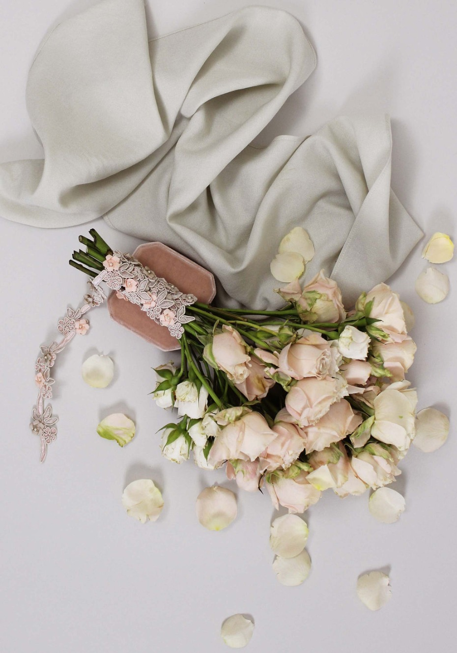 Claire Pettibone's New Heirloom Embellishments Collection Is Flat Lay Perfection