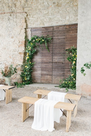Dreamy Italian Countryside Wedding Inspiration