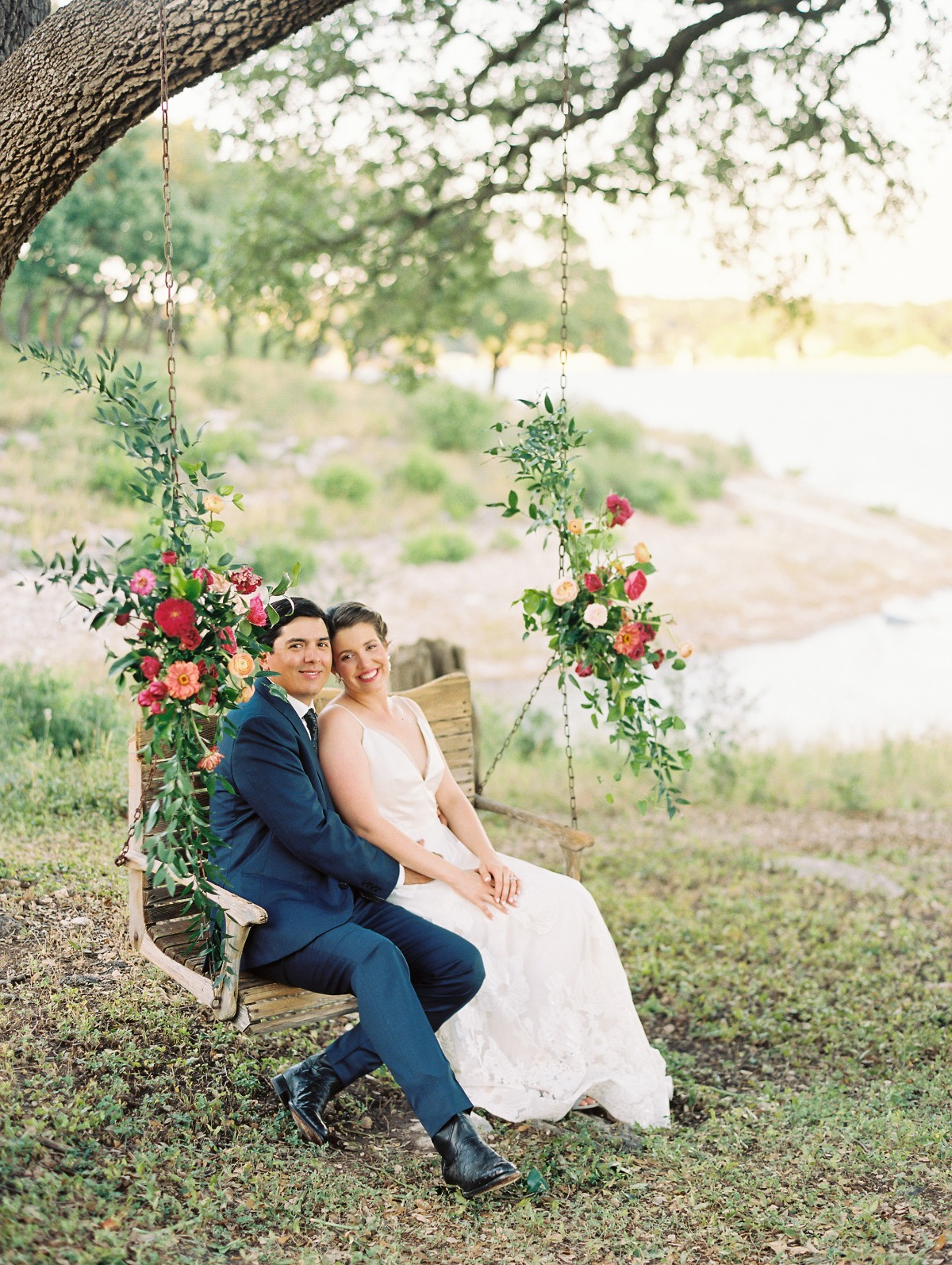 The Texas Couple Kept Their Wedding Date and Nailed Plan B
