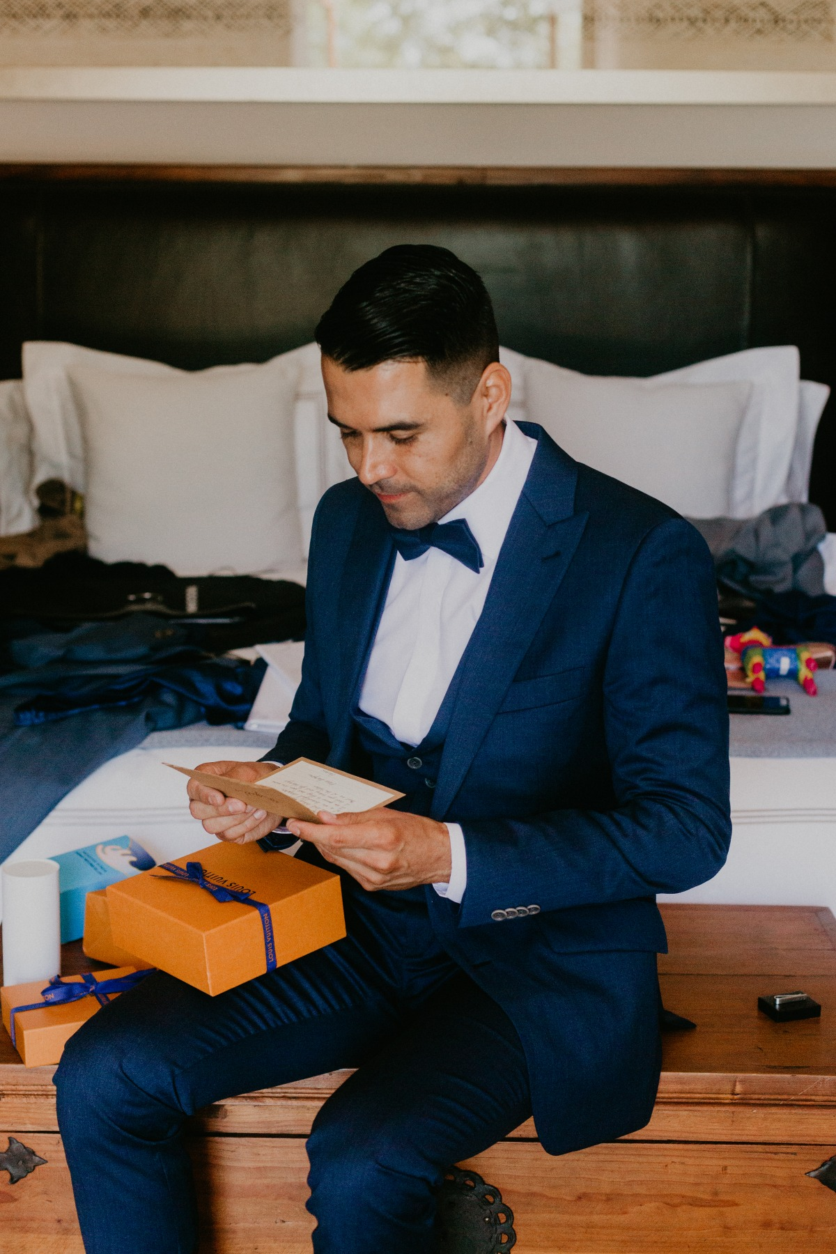 Indochino Groom suit