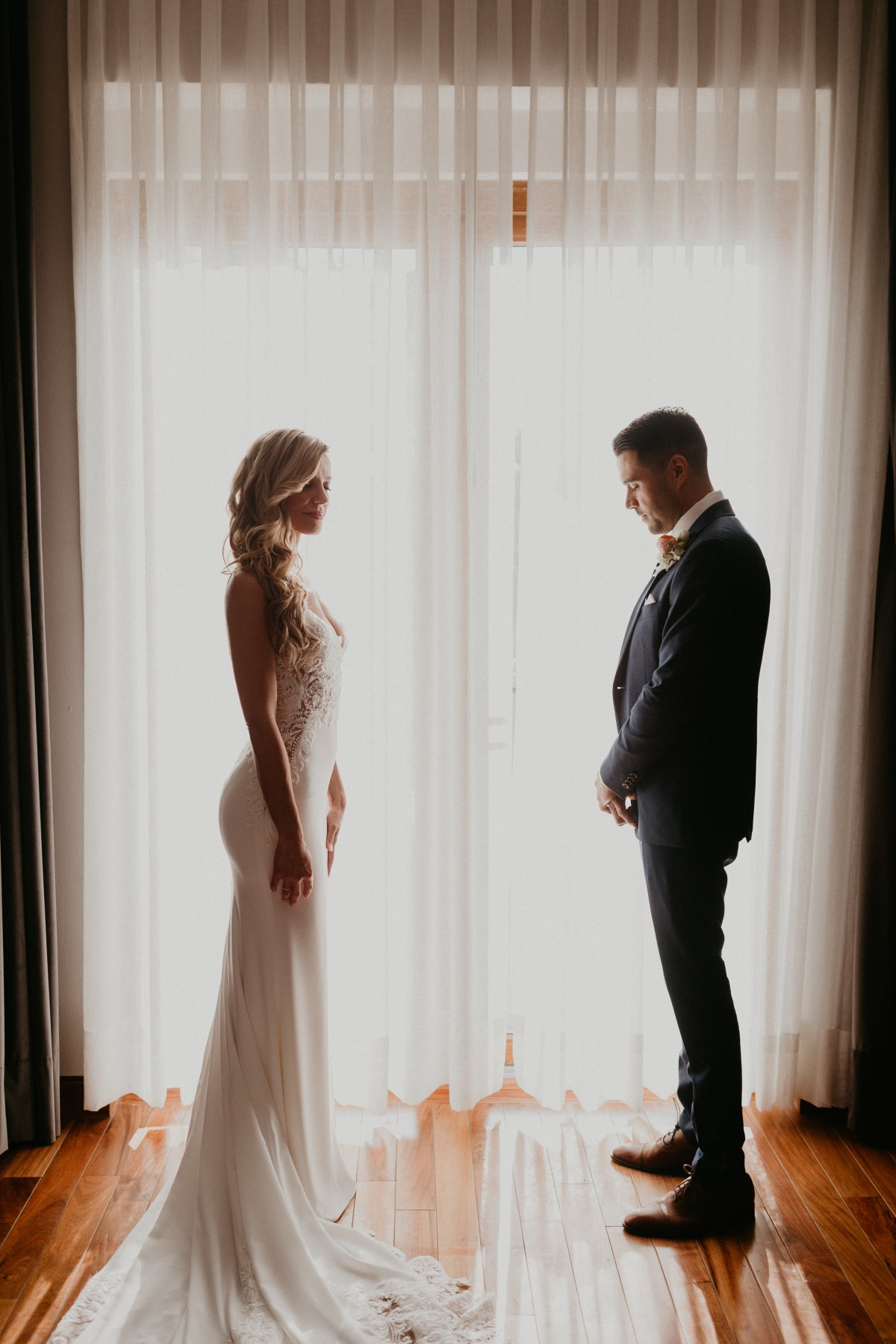bride and groom portrait ideas