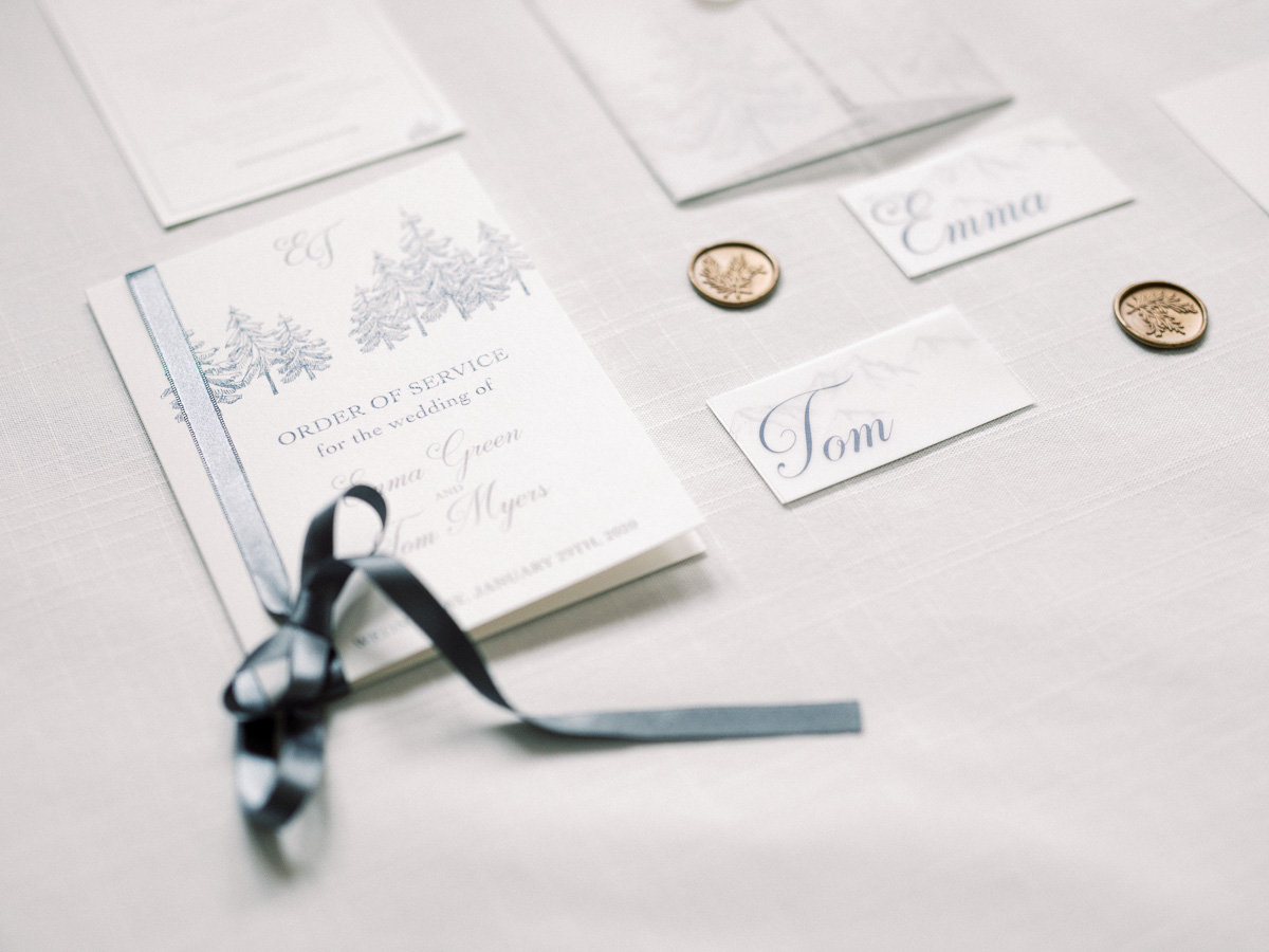 Luxury and Intimate Winter Wedding Inspiration in the French Alps
