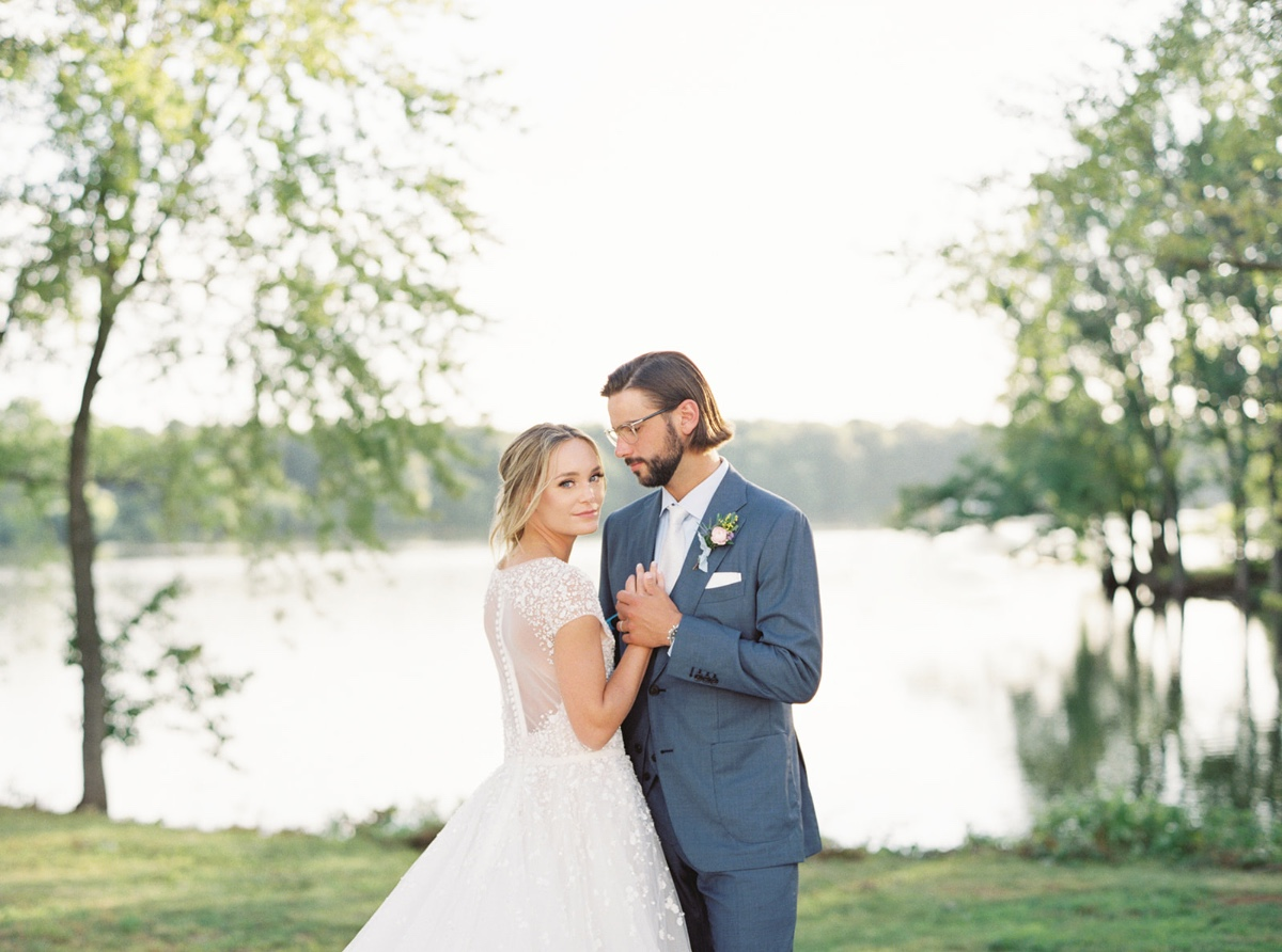 Southern Flare and Sunset Garden Wedding Inspiration