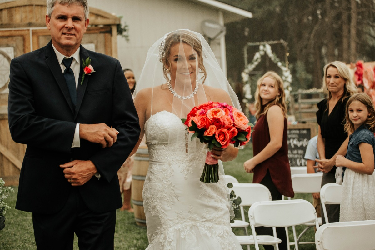 The 10k Backyard Wedding That Overcame All Obstacles