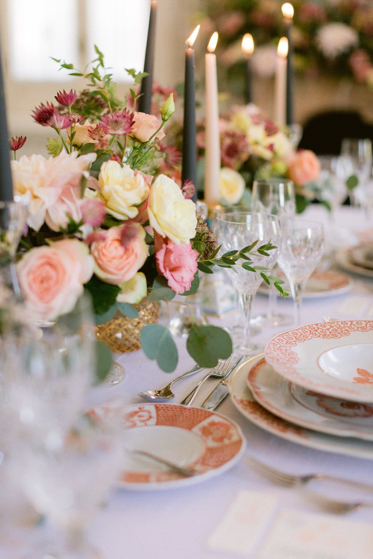elegant and refined wedding reception