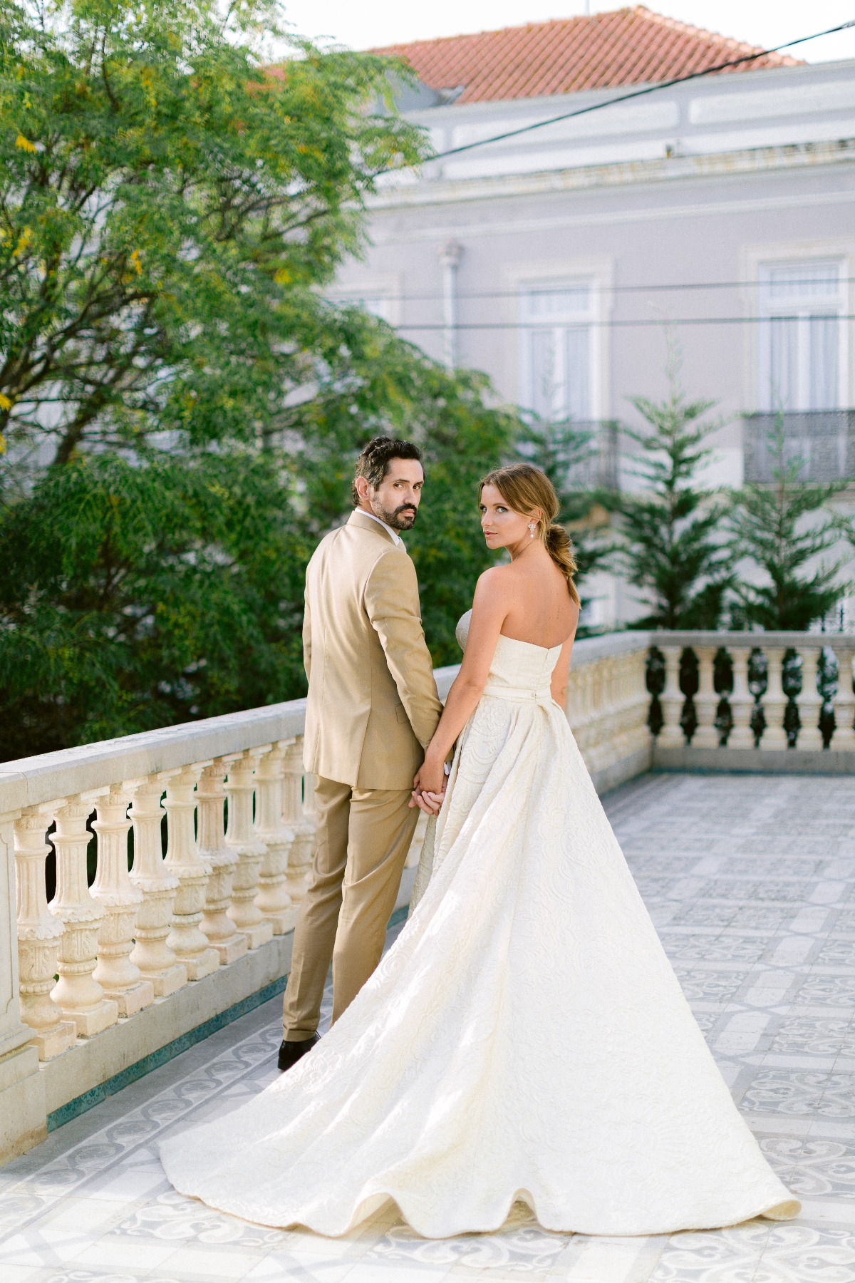 Elegant chateau wedding venue in Portugal