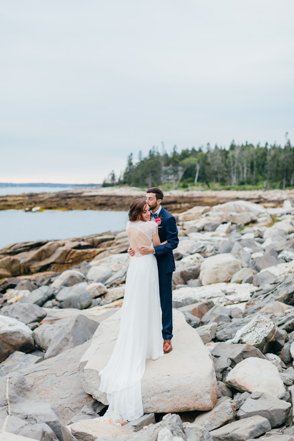 Hilary + Andy's New England Wedding