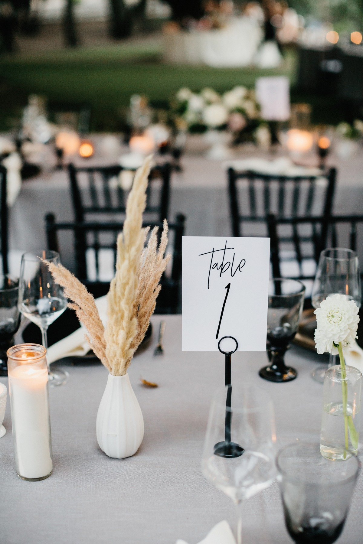 A Black And White Summer Soiree at Saddlerock Ranch