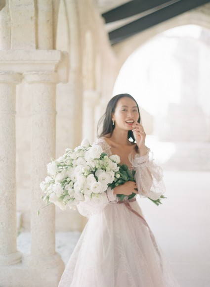 Vineyard Vibes and Old World Charm Come Together for This Stunning Styled Shoot In South West France