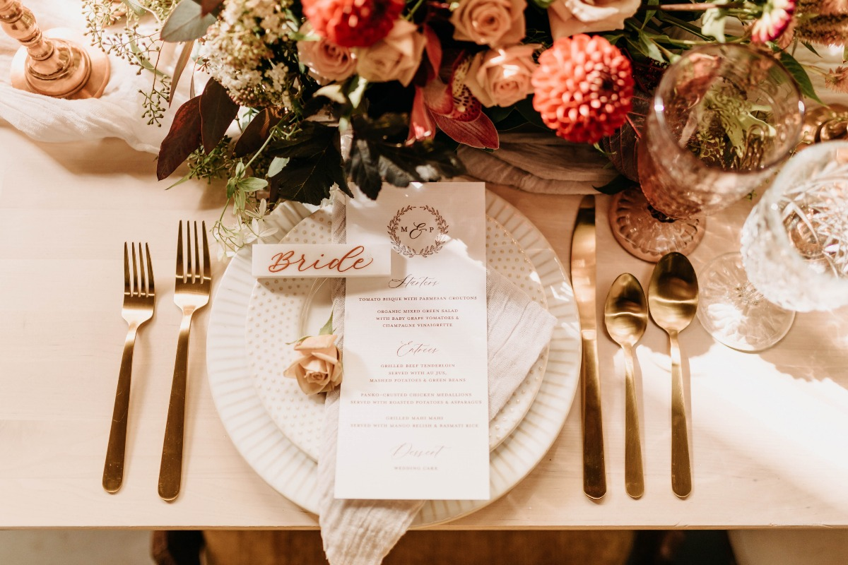 When a Venue Vibes So Hard That It's Your First Pick, Your Only Choice Is to Bring Some Boho and Rustic Edge to the Table Too