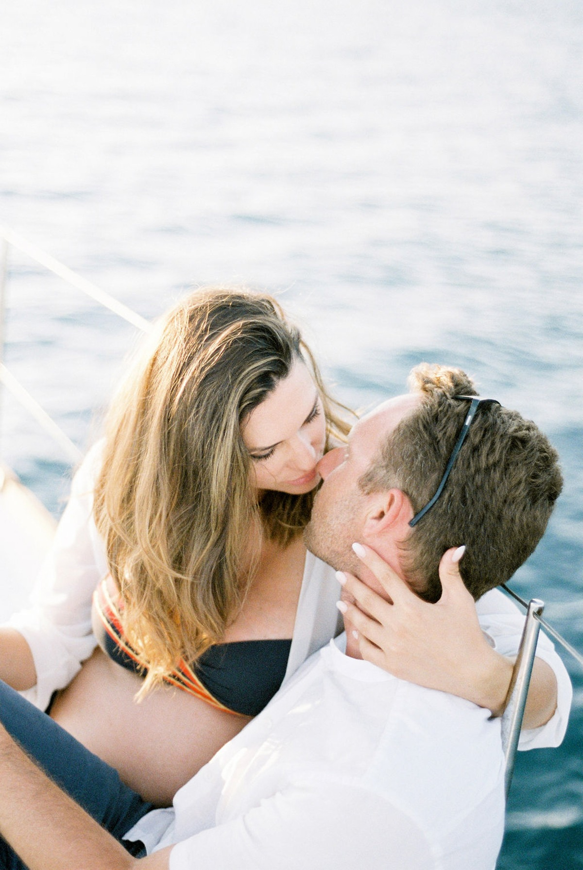 A Sailboat Wedding Anniversary Off The Coast of Greece