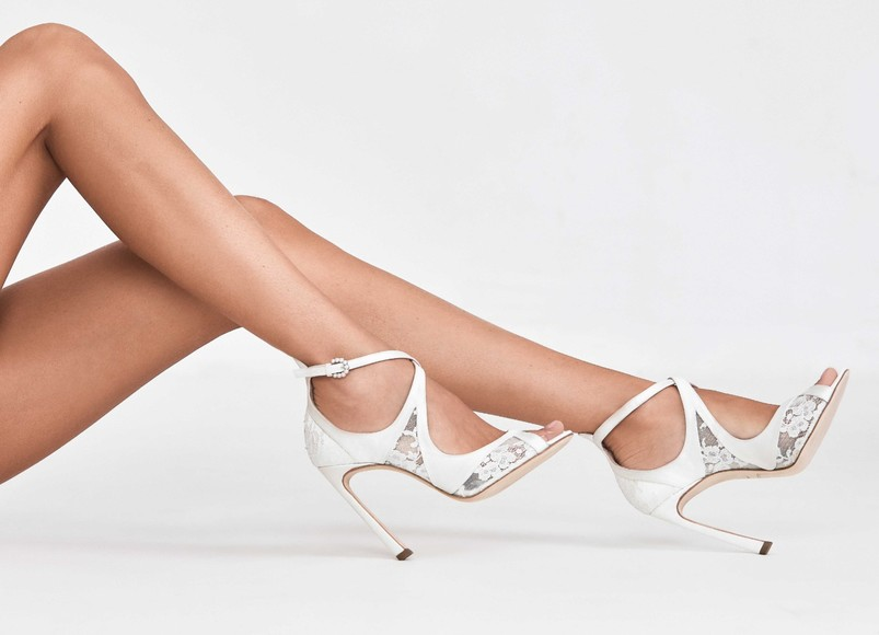 The Galia Lahav Bridal Shoe Collection Is Here and We're So Happy About It