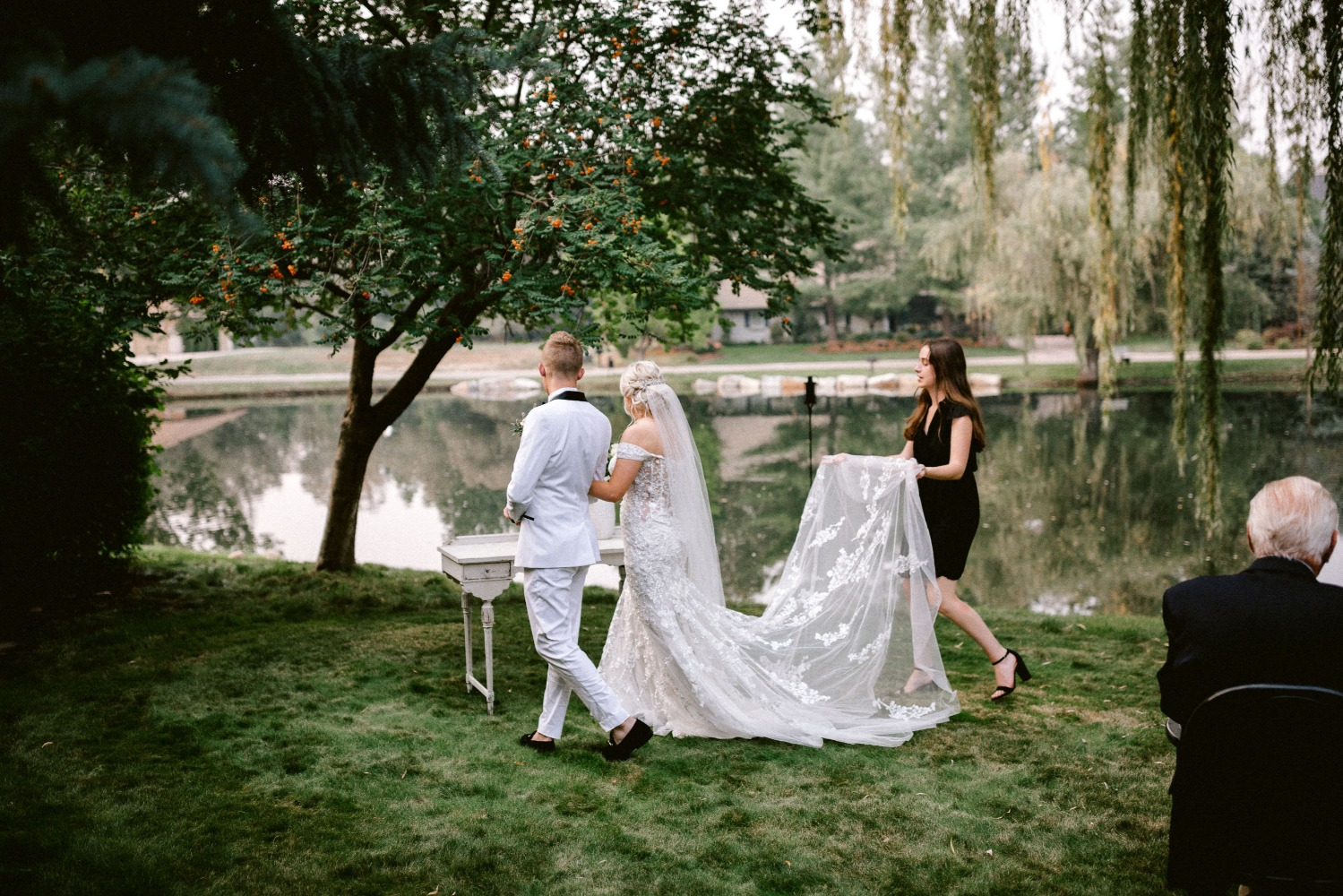 Glamorous Backyard Wedding in Boise, Idaho