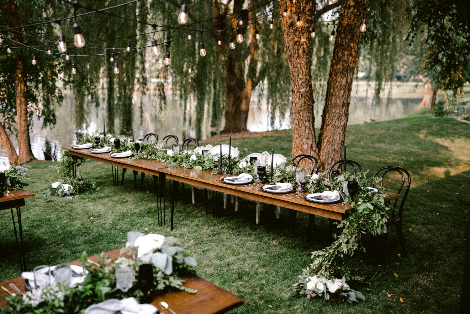 A Glamorous  Backyard Wedding in Boise, Idaho