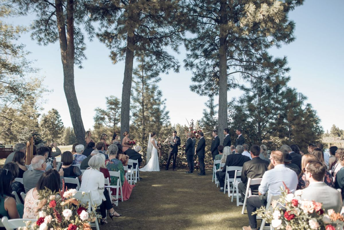 A Picturesque Lakeside Wedding Amongst The Trees for 30k