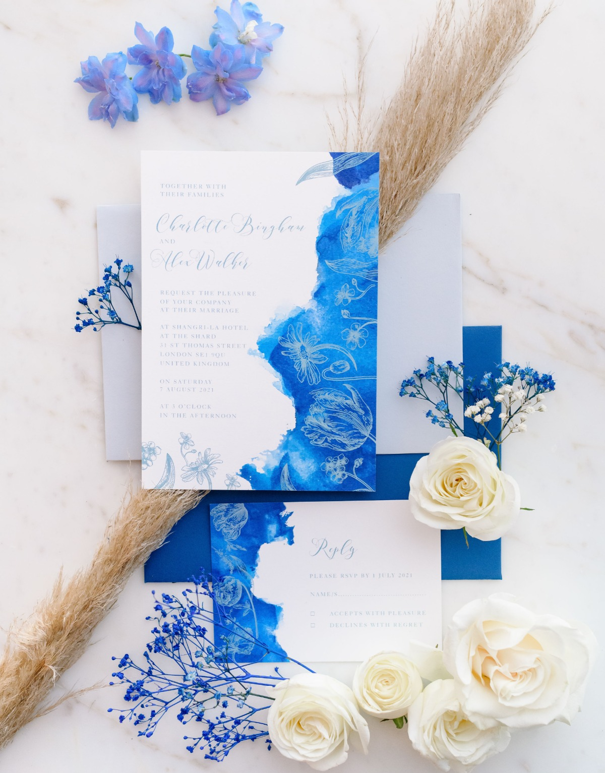 Even With a Small Guest List, This London Wedding Inspiration Didn't Sacrifice Opulence
