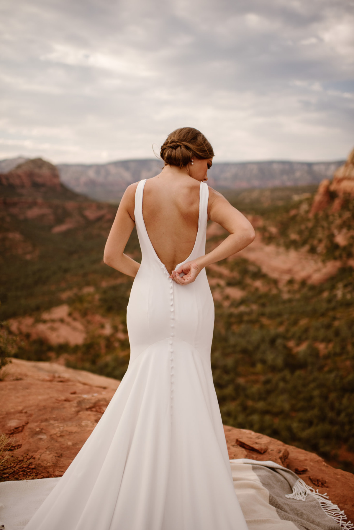 An Intimate + Adventurous Wedding Amongst The Red Rocks In Sedona