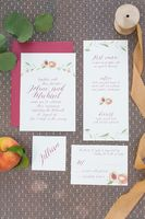 Rustic Peach Grove Wedding Ideas
