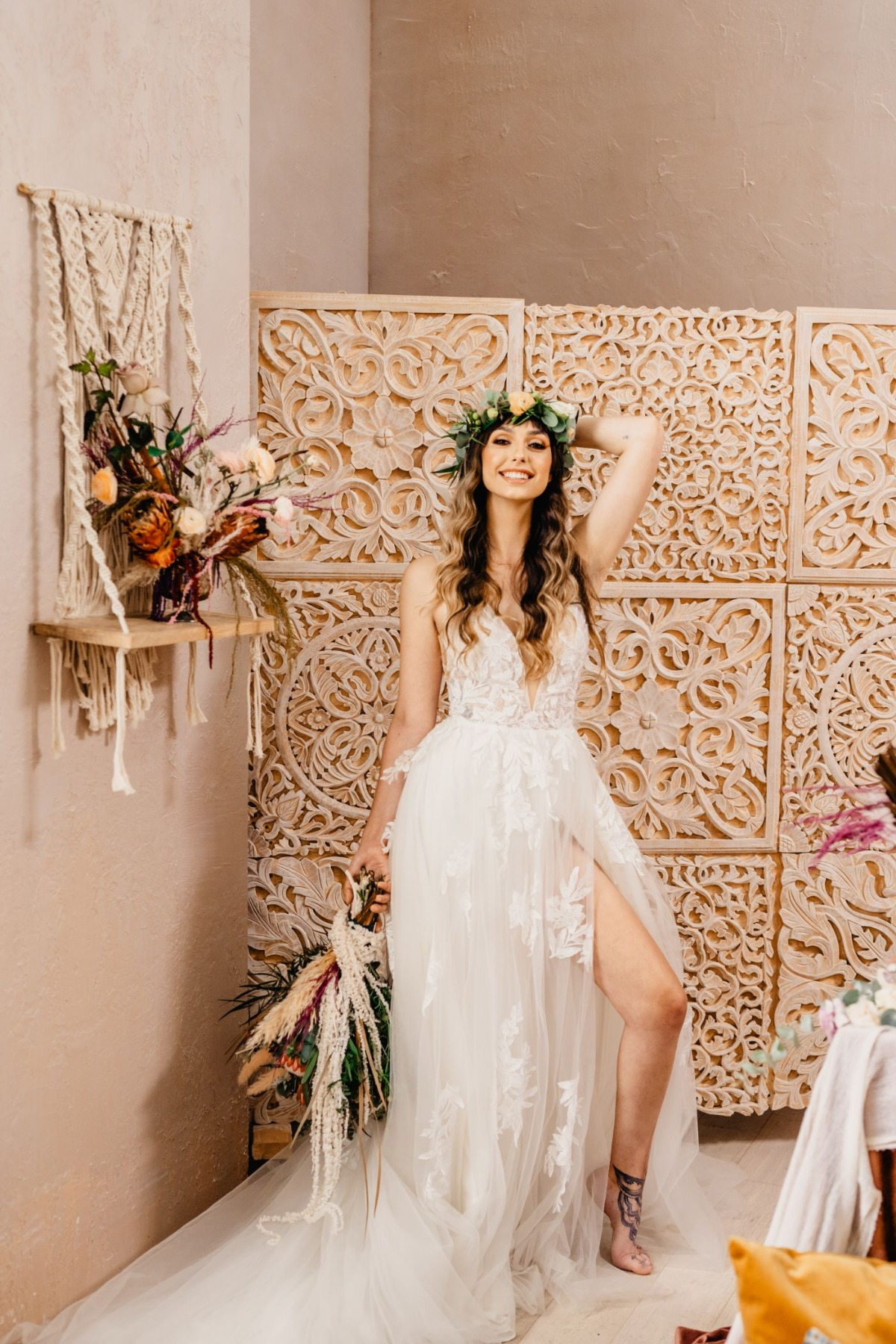 Moroccan and Boho Inspired Elopement in Toronto