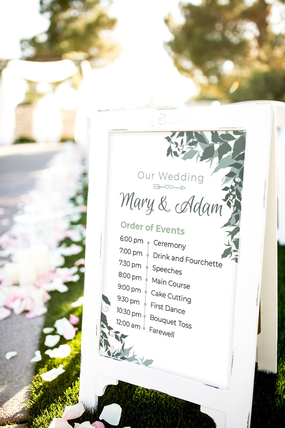 Wedding Signage Was So Important Already, But In 2020 It's Crucial