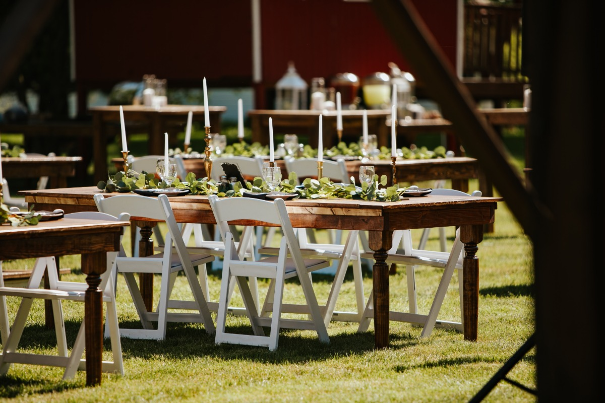 A Fathers Quest to Create the Perfect Outdoor Wedding