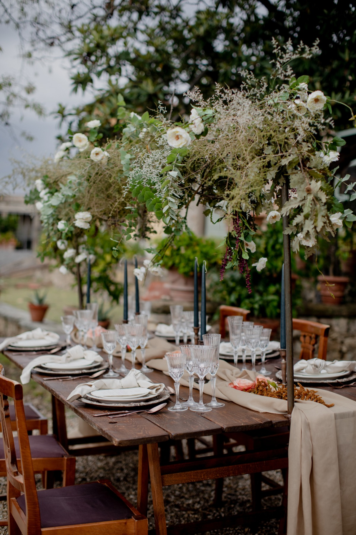 The Rebirth of Beauty: A Romantic Wedding at Villa di Maiano in Florence